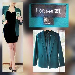 Forever 21 Green Blazer